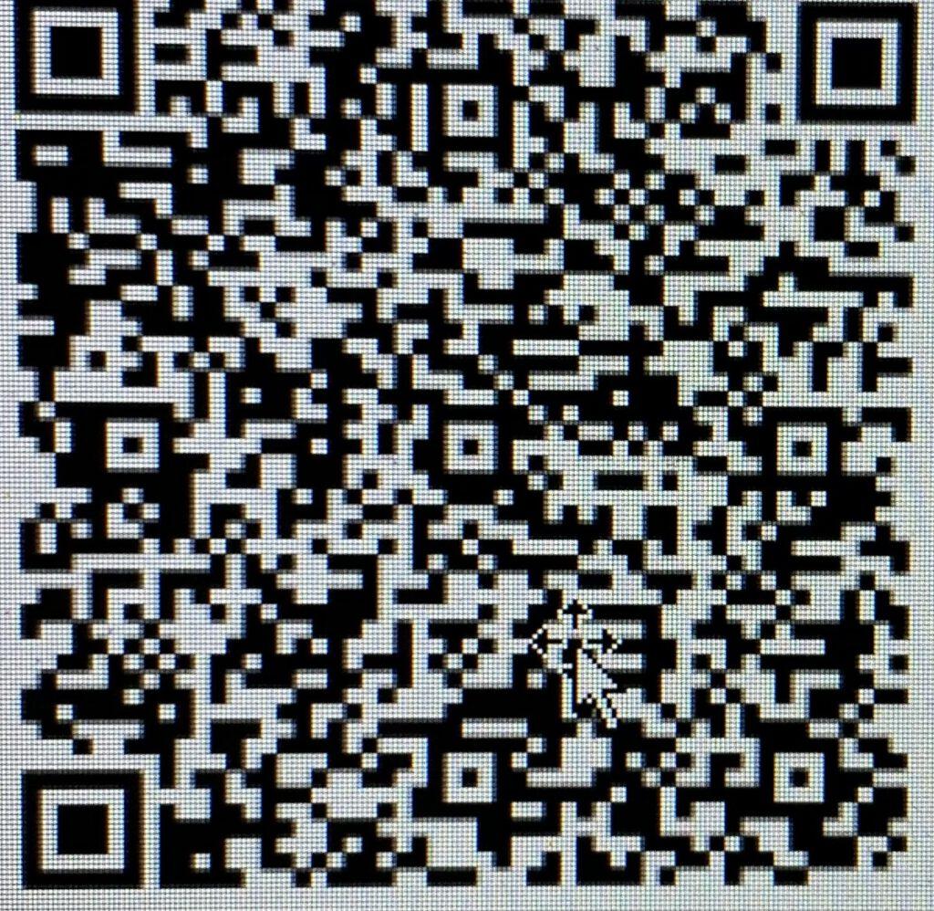 """Voor het overmaken van de collectes en/of een gift voor de zending kunt u gebruik-maken van de app Appostel. Het kan ook door de QR-code hiernaast te scannen. De derde mogelijkheid is het geld over te maken naar rekening NL80 INGB 0658 4602 85 t.n.v. Protestantse Gemeente te Bussum. Vermeld daarbij """"Sion"""" en de bestemming."""